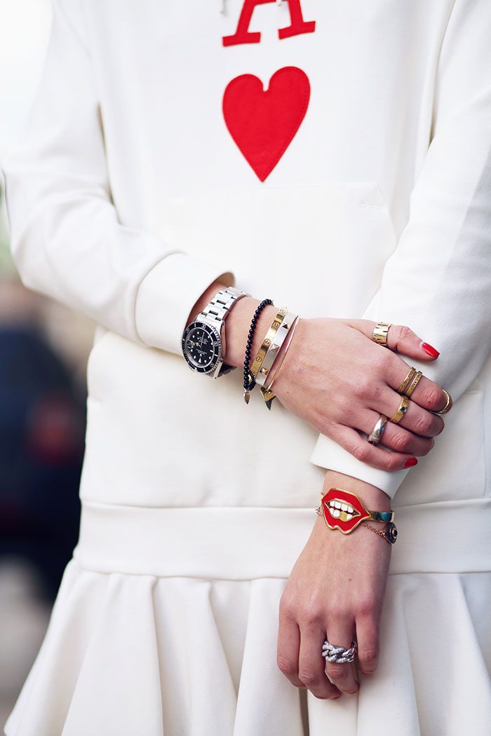 the blonde salad by chiara ferragni bague love cartier