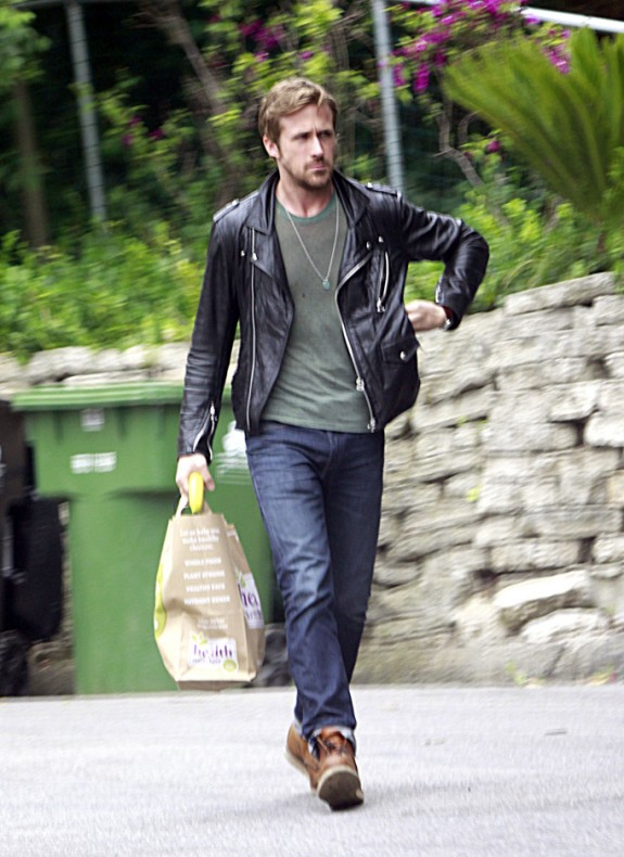 Ryan Gosling - veste en cuir