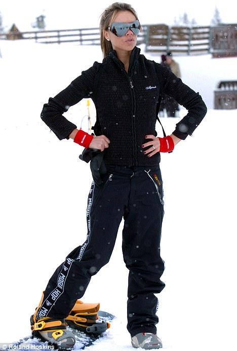 Victoria beckham ski