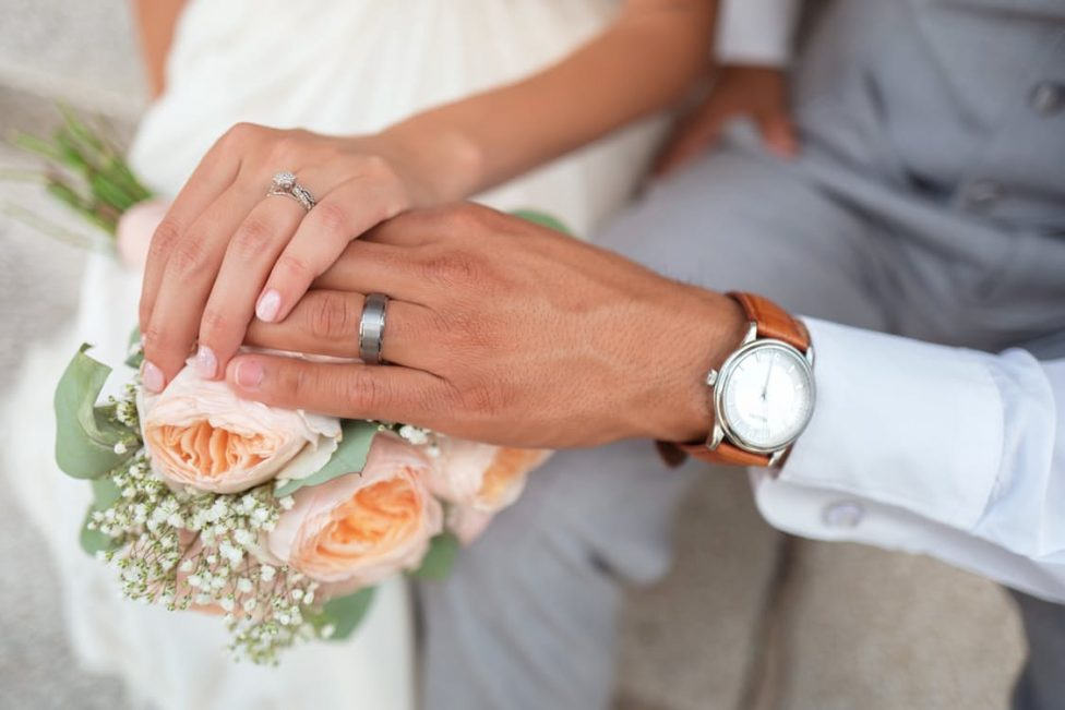 Bague de mariage tendance